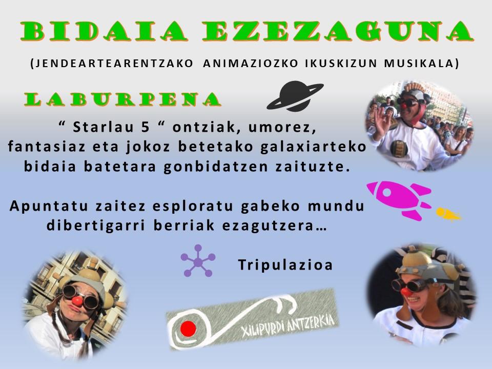 Kultur Errota - BIDAIA EZEZAGUNA - XILIPURDI ANTZERKIA